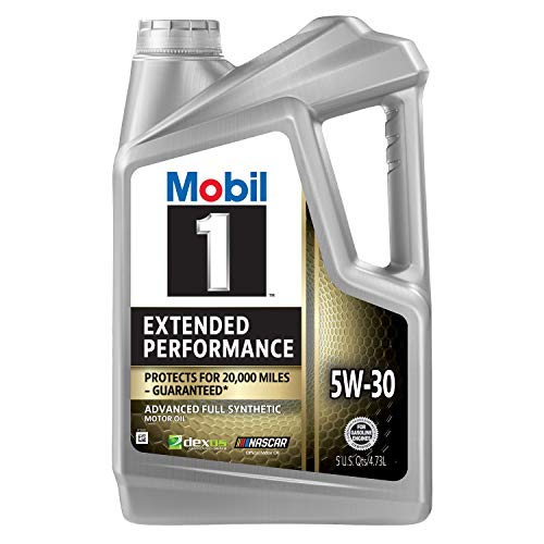 Mobil 1 Extended Performance Full Synthetic Motor Oil 5W-30, 5 Quart