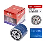 Kia Oil Filter 26300-35504 with Gasket 21513-23001