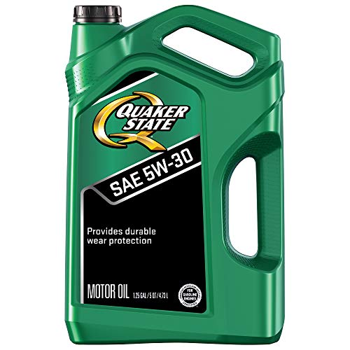 Quaker State Motor Oil, Synthetic Blend 5W-30 (5-Quart, Single Pack)